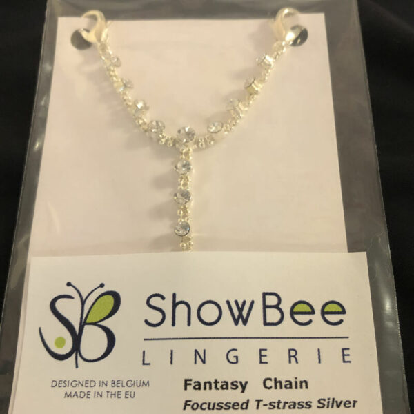 ShowBee Focussed T-Strass silver - ShowMe collection