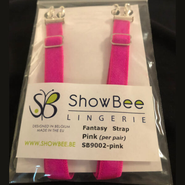 ShowBee colored strap Beautyberry fuchsia - add some color to your ShowBee - 2 straps per package