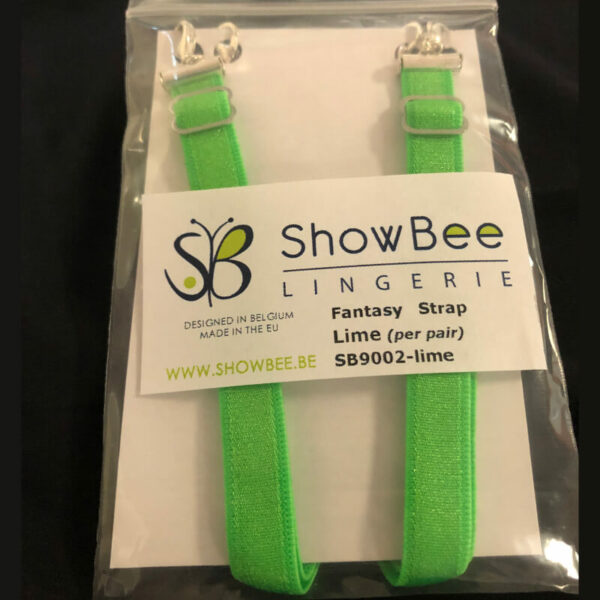 ShowBee colored strap Key Lime green - add some color to your ShowBee - 2 straps per package