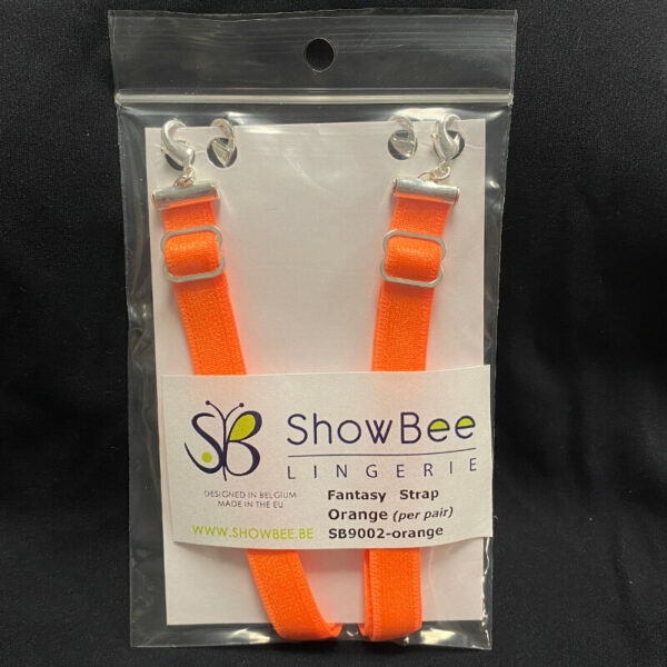 ShowBee colored strap Florida Orange - add some color to your ShowBee - 2 straps per package
