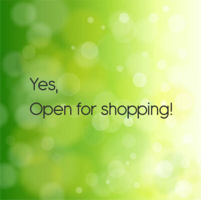 Showbee.be open for shopping!
